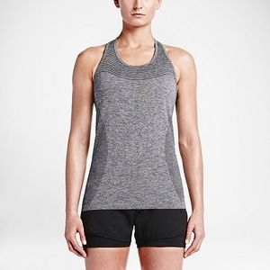 ✨ Nike Gray Dri-Fit Running Top ✨